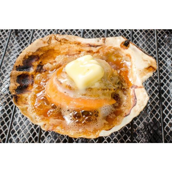 ホタテ ほたて 特大 片貝ほたて 20枚 10枚×2袋 (殻付きほたて 帆立 貝 バター焼き 浜焼き バーベキュー BBQ 業務用 築地市場 ギフト) gourmet-no-ousama 09