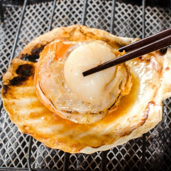 ホタテ ほたて 特大 片貝ほたて 40枚 10枚×4袋 (殻付きほたて 帆立 貝 バター焼き 浜焼き バーベキュー BBQ 業務用 築地市場 ギフト)|gourmet-no-ousama|03