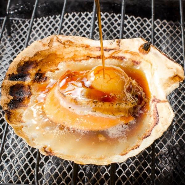 ホタテ ほたて 特大 片貝ほたて 40枚 10枚×4袋 (殻付きほたて 帆立 貝 バター焼き 浜焼き バーベキュー BBQ 業務用 築地市場 ギフト)|gourmet-no-ousama|06
