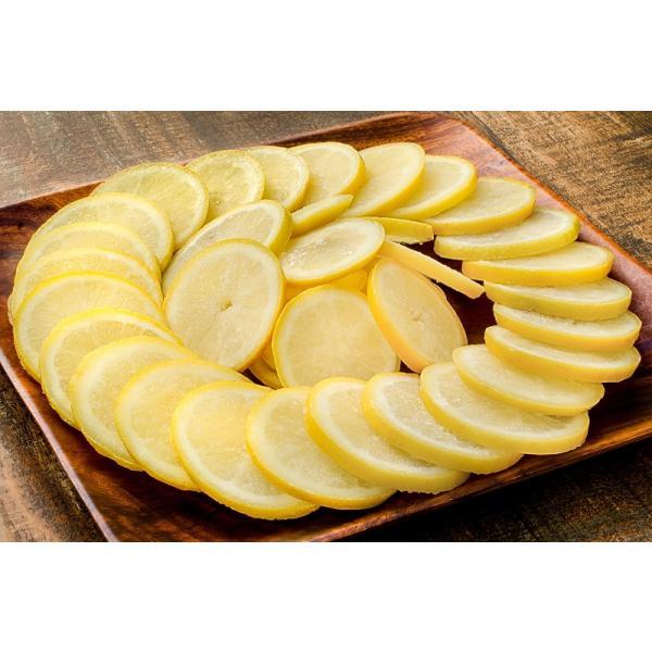 冷凍レモン スライス 500g ×1パック 輪切り カット済み レモン スライス レモンサワー レモネード フルーツジュース はちみつレモン レモンティー|gourmet-no-ousama|03