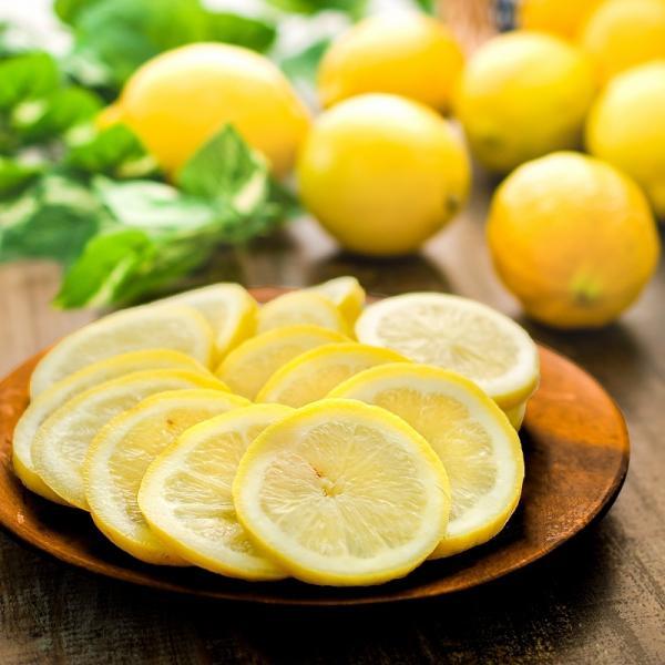 冷凍レモン スライス 500g ×1パック 輪切り カット済み レモン スライス レモンサワー レモネード フルーツジュース はちみつレモン レモンティー|gourmet-no-ousama|07