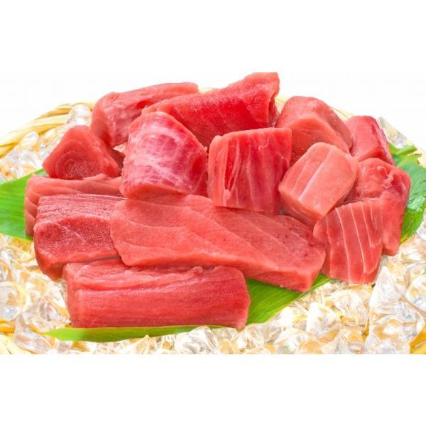 (訳あり わけあり ワケあり) メバチまぐろ ぶつ切り 1kg (マグロ まぐろ 鮪 刺身)|gourmet-no-ousama|02