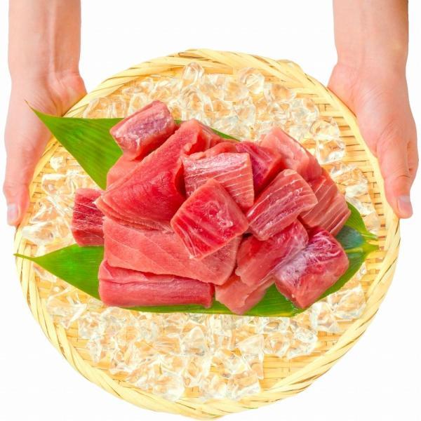 (訳あり わけあり ワケあり) メバチまぐろ ぶつ切り 1kg (マグロ まぐろ 鮪 刺身)|gourmet-no-ousama|07