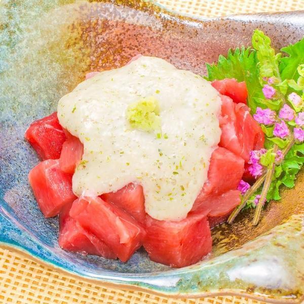(訳あり わけあり ワケあり) メバチまぐろ ぶつ切り 1kg (マグロ まぐろ 鮪 刺身)|gourmet-no-ousama|09