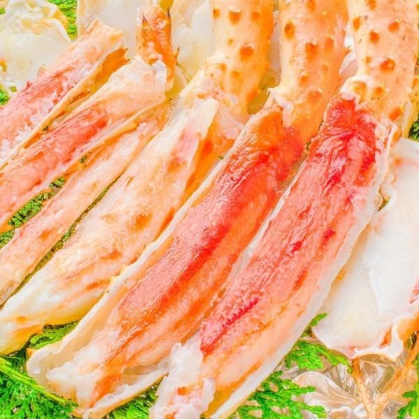 ミナミタラバガニ ハーフポーション ハーフカット済み(冷凍総重量500g前後×3パック・合計1.5kg前後・ボイル冷凍)|gourmet-no-ousama|03