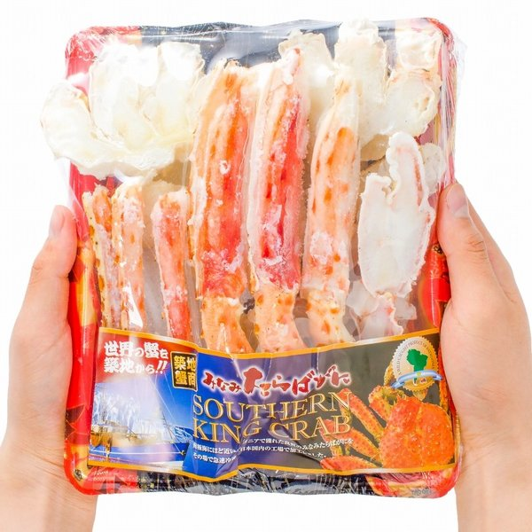 ミナミタラバガニ ハーフポーション ハーフカット済み(冷凍総重量500g前後×3パック・合計1.5kg前後・ボイル冷凍)|gourmet-no-ousama|09