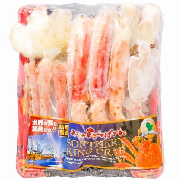 ミナミタラバガニ ハーフポーション ハーフカット済み(冷凍総重量500g前後×3パック・合計1.5kg前後・ボイル冷凍)|gourmet-no-ousama|10