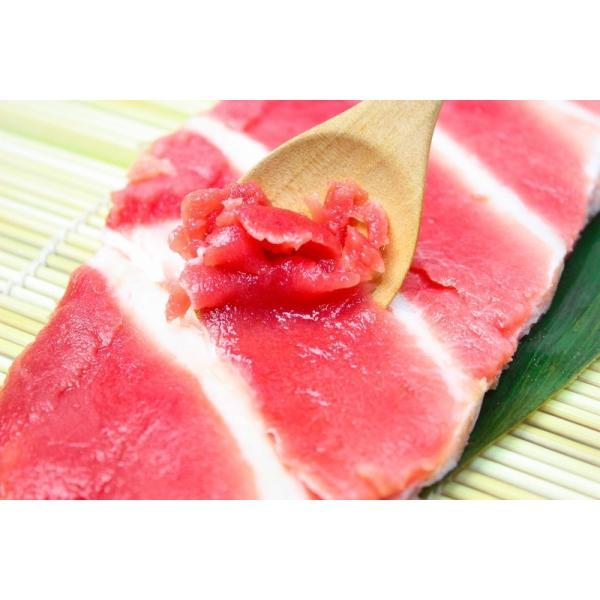 本まぐろ 本マグロ 本鮪 中落ち 1kg前後 骨付き(ナカオチ なかおち )海鮮丼 ネギトロ 刺身|gourmet-no-ousama|03