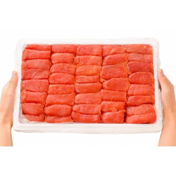 明太子 めんたいこ 王様のデカ明太子 切れ子 2kg×2箱 (訳あり わけあり ワケあり 穴あき バラ)|gourmet-no-ousama|13