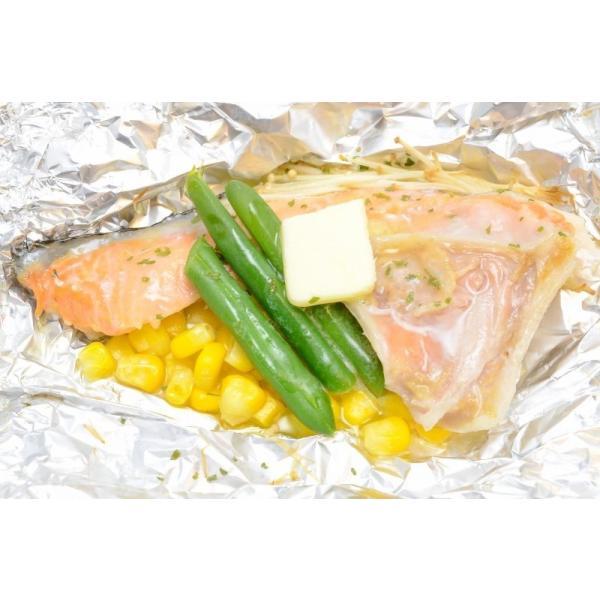 (サーモン 鮭 サケ) 鮭カマ(30〜36枚前後・冷凍時総重量3kg・真空パック)|gourmet-no-ousama|05