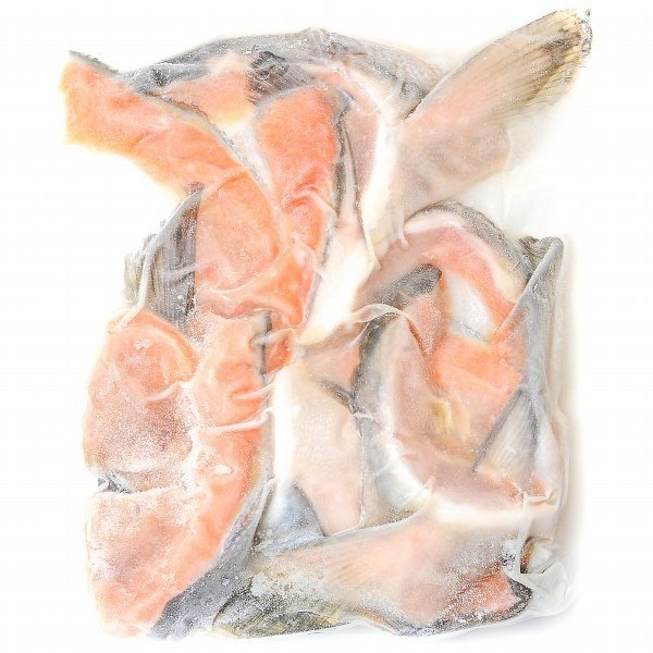 (サーモン 鮭 サケ) 鮭カマ(10〜12枚前後・冷凍時総重量1kg・真空パック)|gourmet-no-ousama|06