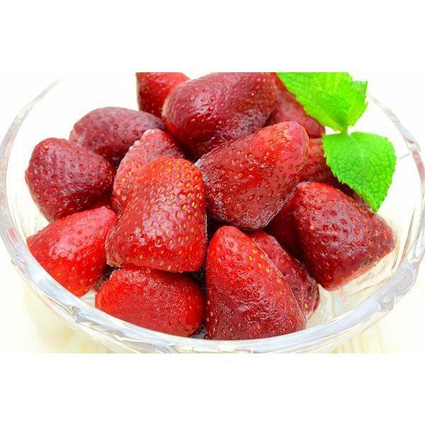 ストロベリー 冷凍ストロベリー 500g×1 苺 冷凍フルーツ ヨナナス|gourmet-no-ousama|03