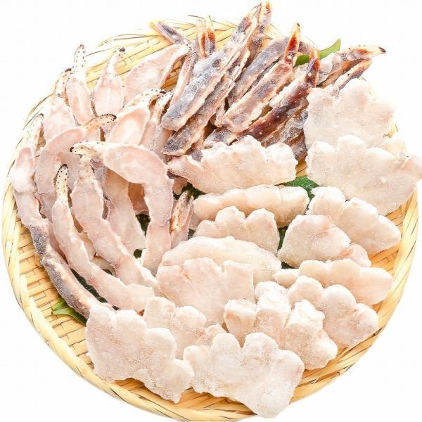 (訳あり ワケあり ワケアリ わけあり) 生タラバガニ 切り落とし端材 1kg (かに鍋 焼きガニ用)|gourmet-no-ousama|15