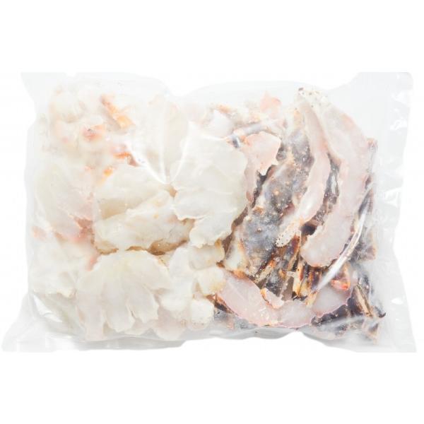 (訳あり ワケあり ワケアリ わけあり) 生タラバガニ 切り落とし端材 1kg (かに鍋 焼きガニ用)|gourmet-no-ousama|18