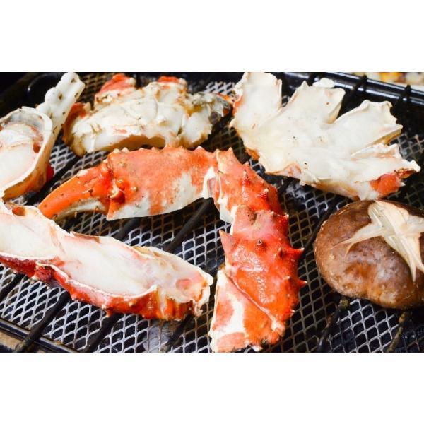 (訳あり ワケあり ワケアリ わけあり) 生タラバガニ 切り落とし端材 1kg (かに鍋 焼きガニ用)|gourmet-no-ousama|07