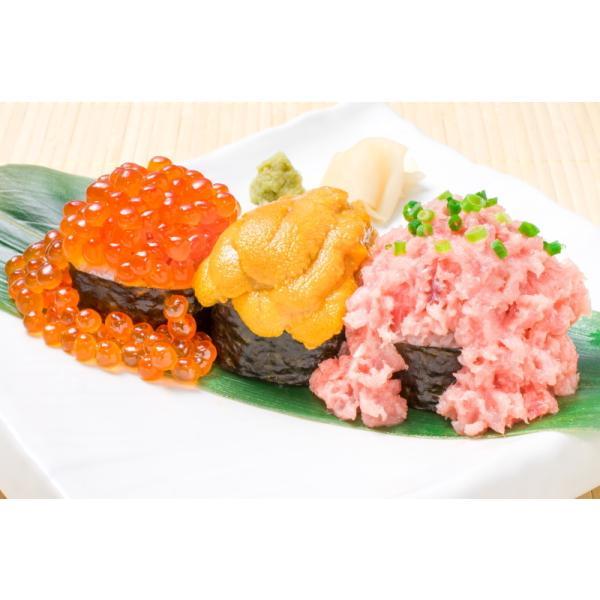 築地市場のウニイクラ丼セット(2杯分・無添加生ウニ100g&いくら醤油漬け100g)海鮮丼で約2杯分|gourmet-no-ousama|03
