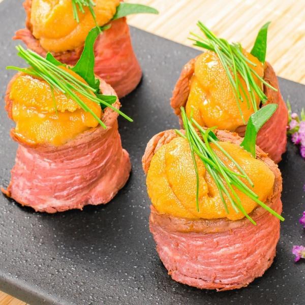 (訳あり 訳アリ わけあり) ローストビーフ ブロック 400g - 500g 前後 霜降り トモサンカク デパ地下仕様 高級 牛肉 モモ肉|gourmet-no-ousama|16