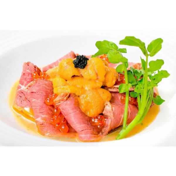 (訳あり 訳アリ わけあり) ローストビーフ ブロック 400g - 500g 前後 霜降り トモサンカク デパ地下仕様 高級 牛肉 モモ肉|gourmet-no-ousama|17