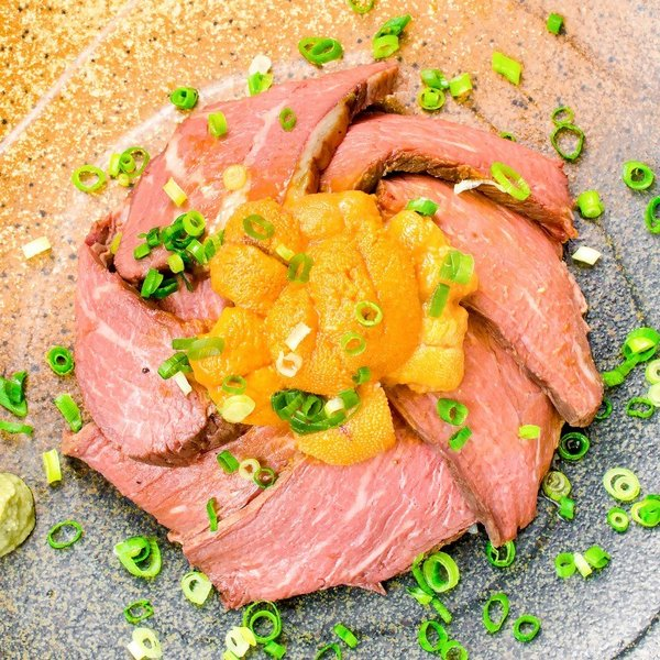(訳あり 訳アリ わけあり) ローストビーフ ブロック 400g - 500g 前後 霜降り トモサンカク デパ地下仕様 高級 牛肉 モモ肉|gourmet-no-ousama|10