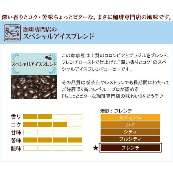 アイスコーヒー 豆 1.5kg たっぷりアイス珈琲福袋(アイス×3) 珈琲豆 ギフト 加藤珈琲 新生活 入学 就職 進学 お祝い 御祝 贈り物 ギフト|gourmetcoffee|02