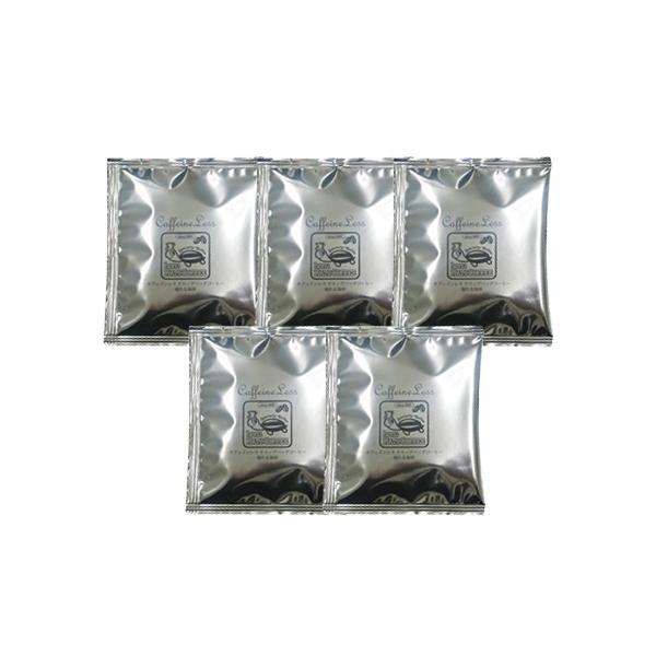 加藤珈琲お試しカフェインレスドリップバッグコーヒー5袋/ポイント消化/ネコポス全国一律送料無料|gourmetcoffee