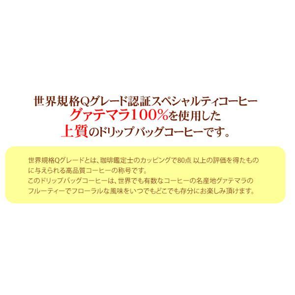 グァテマラ珈琲100%ドリップバッグコーヒー250袋入りセット【全国一律送料無料】/ドリップコーヒー|gourmetcoffee|02