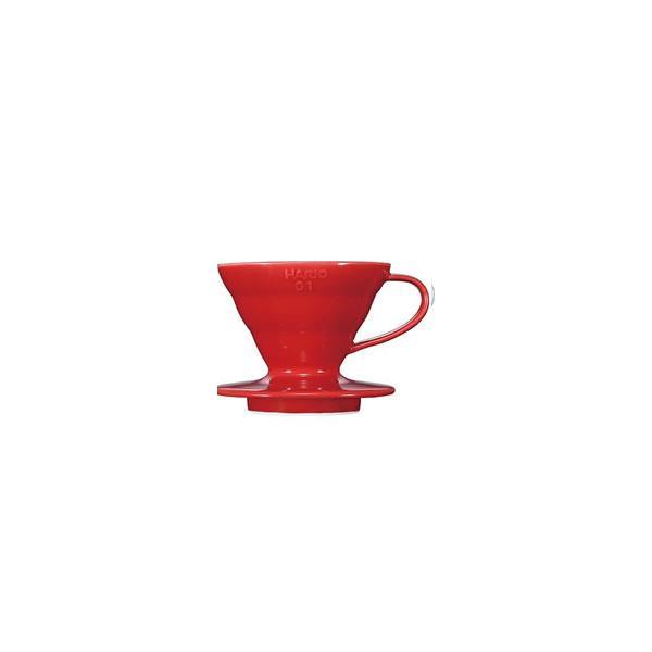 [お取り寄せ商品]V60透過ドリッパー01セラミックR/VDC-01R/ハリオ(HARIO)|gourmetcoffee