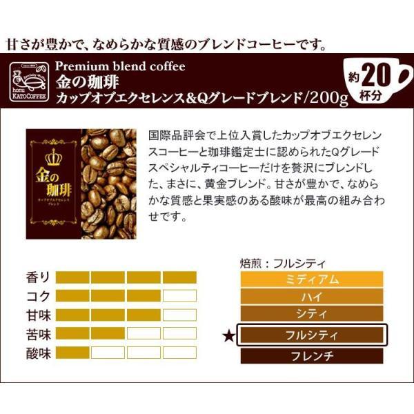 (200gVer)ピカイチ珈琲福袋(Cブル・金・ミスト・レジェ/各200g)/珈琲豆 コーヒー豆 コーヒー|gourmetcoffee|03