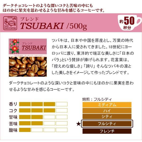 タイプ6(R)スペシャルティ珈琲大入り福袋(Qホン・青・TSUBAKI/各500g)/珈琲豆 gourmetcoffee 04