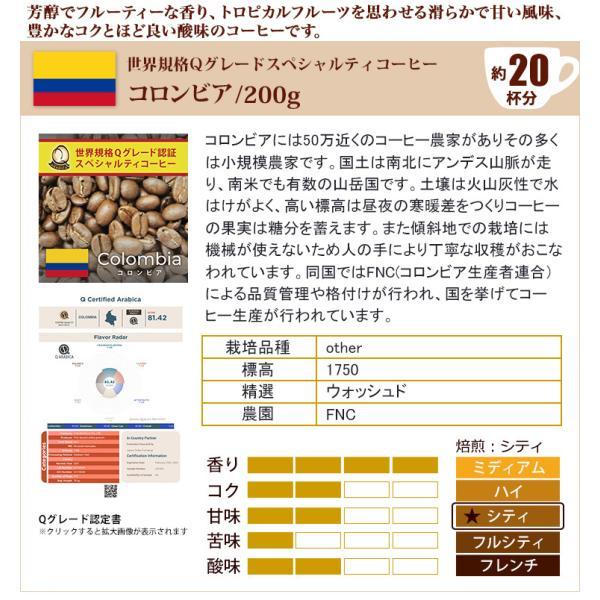 (200gVer)颯爽の珈琲福袋(Qホン・Qコロ・ラス/各200g)/珈琲豆 コーヒー豆 コーヒー|gourmetcoffee|03