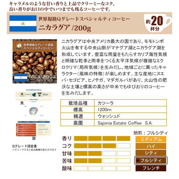 Qグレード6種類飲み比べ (Qブラ・Qコス・Qコロ・Qグァテ・Qエル・Qペル/各200g)/珈琲豆|gourmetcoffee|03