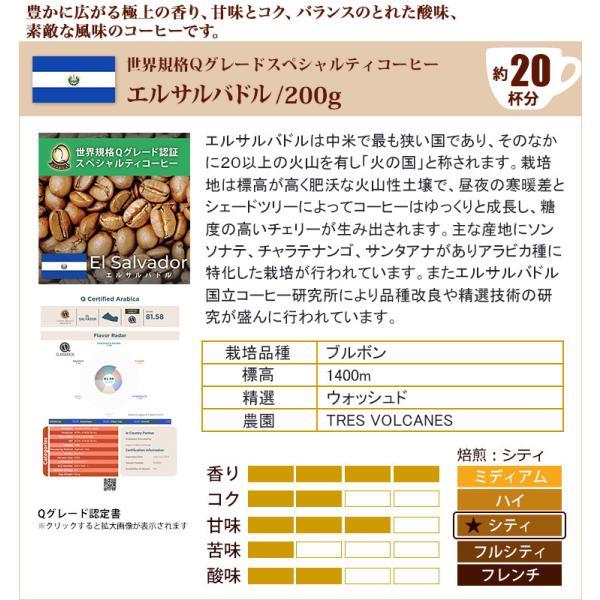 Qグレード6種類飲み比べ (Qマンデ・Qコス・Qコロ・Qメキ・Qエル・Qペル/各200g)/珈琲豆|gourmetcoffee|07