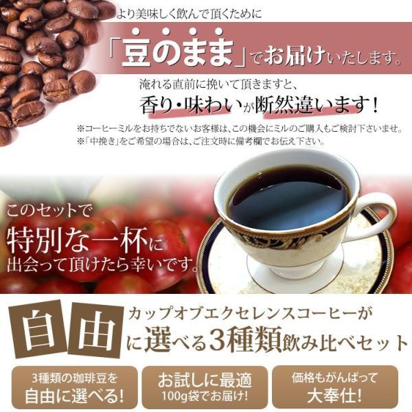 【豆のまま】カップオブエクセレンス自由に選べる3種類飲み比べセット (各100g・COEDB)/珈琲豆|gourmetcoffee|03