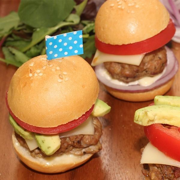 ハンバーガーバンズ ミニサイズ 24個 ミニバンズ バンズ 冷凍 パン ミ二 バーガー ホームパーティー オードブル 朝食 ブレッド 冷凍食品 簡単