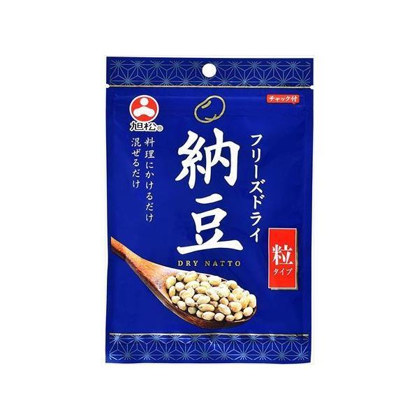送料無料 旭松食品 フリーズドライ納豆 粒タイプ 30g ×10袋