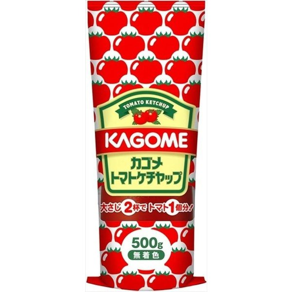 送料無料 カゴメ トマトケチャップ 500g×20本