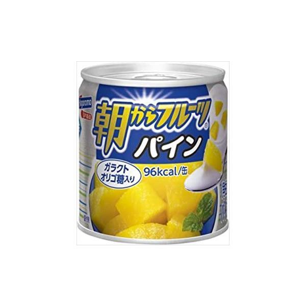 【24缶セット】はごろも 朝からフルーツ パイン 190g×24個 1ケース