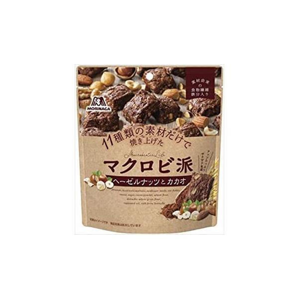 送料無料 森永製菓 マクロビ派 ヘーゼルナッツとカカオ 100g ×30袋