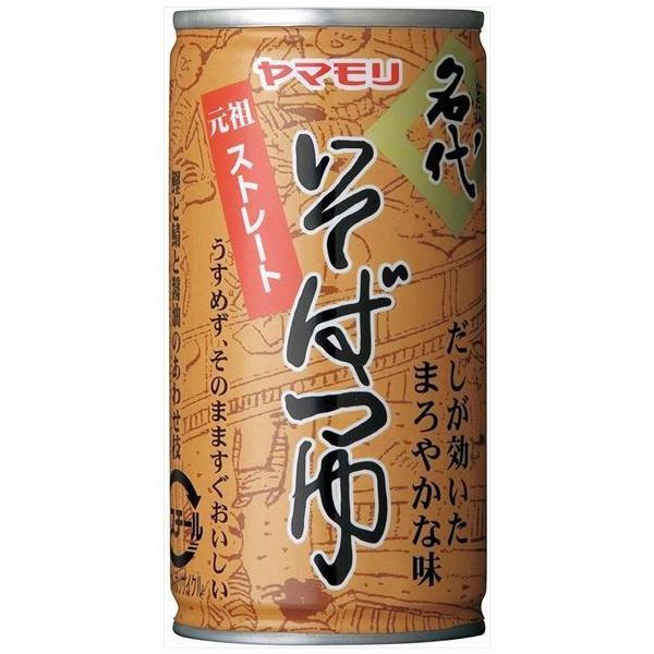送料無料 ヤマモリ 名代そばつゆ 缶195g×30本