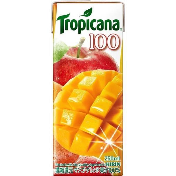 キリン トロピカーナ100%マンゴーブレンド 250ml|goyougura-okawa