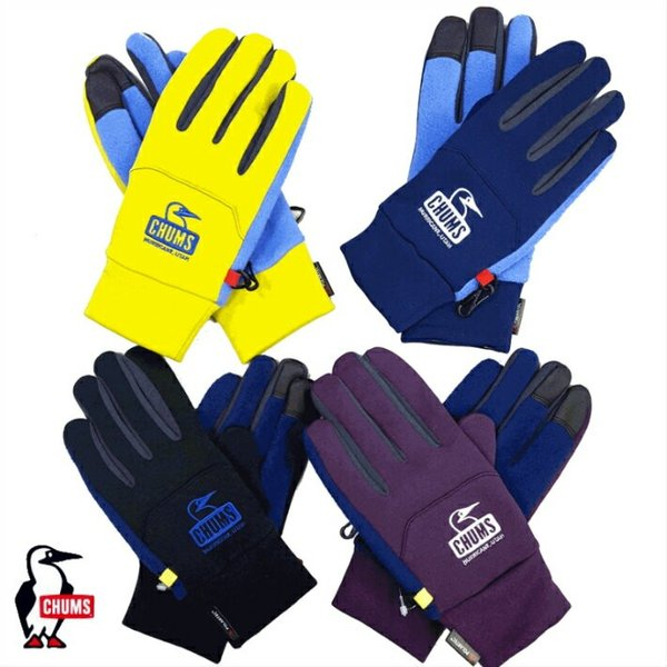 CHUMS/チャムス/Polartec Power Stratch Glove/ポーラーテックパワーストレッチグローブ/CH09-1098|gpstore