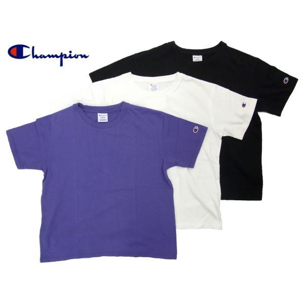 ◆Champion/チャンピオン/ウィメンズ クルーネックTシャツ/CW-M322|gpstore