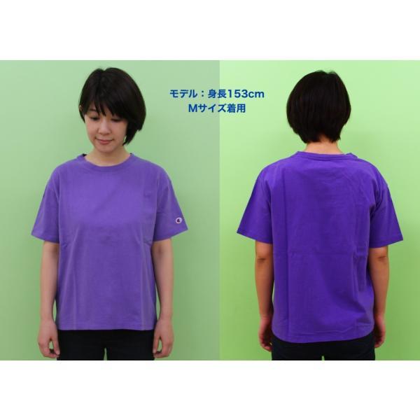◆Champion/チャンピオン/ウィメンズ クルーネックTシャツ/CW-M322|gpstore|03