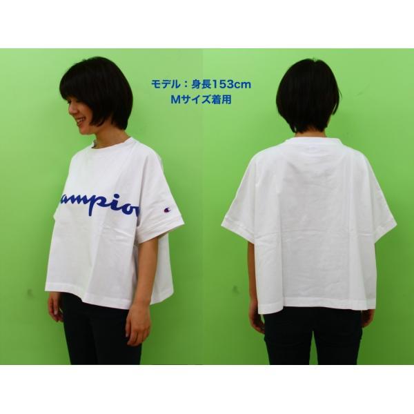 ◆Champion/チャンピオン/ウィメンズ ビッグTシャツ/CW-P307|gpstore|05