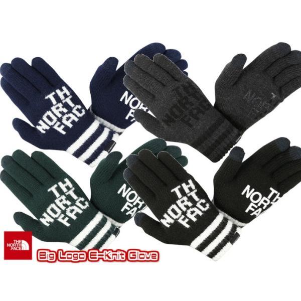 THE NORTH FACE/ザノースフェイス/Big Logo E-Knit Glove/ビッグロゴイーニットグローブ/NN61619|gpstore