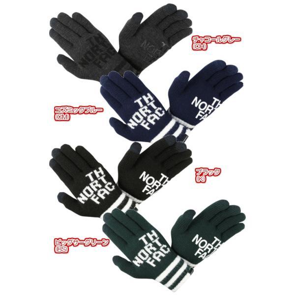 THE NORTH FACE/ザノースフェイス/Big Logo E-Knit Glove/ビッグロゴイーニットグローブ/NN61619|gpstore|03