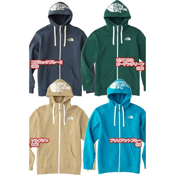THE NORTH FACE/ザノースフェイス REARVIEW FULLZIP HOODIE/リアビューフルジップフーディー /NT11530|gpstore|03