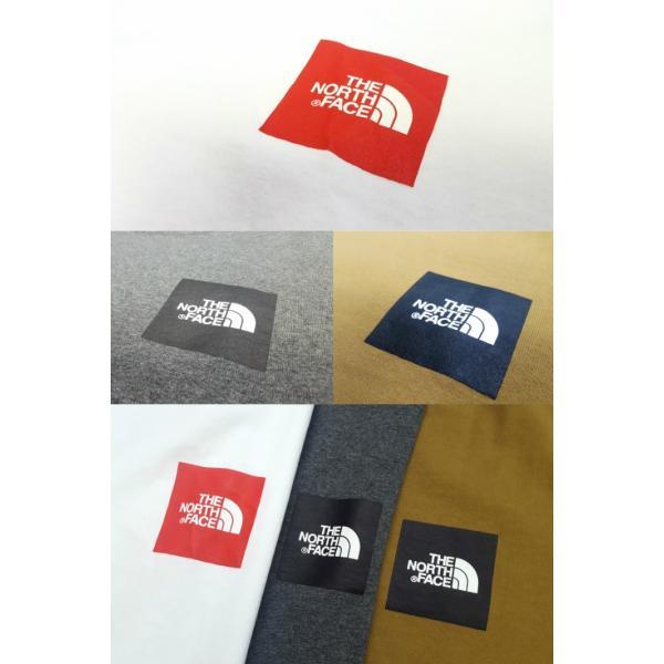 THE NORTH FACE/ザノースフェイス/L/S Square Logo California Tee/ロングスリーブスクエアロゴカリフォルニアTシャツ/NT31842|gpstore|05