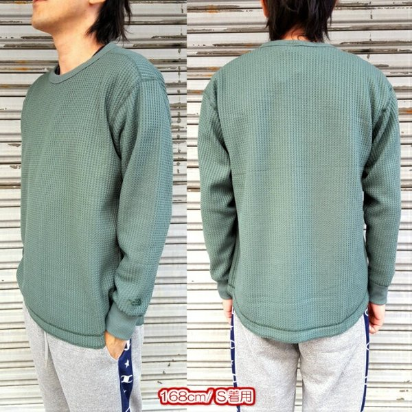 THE NORTH FACE/ザノースフェイス/Long Sleeve Waffle Crew/ロングスリーブワッフルクルー/NT81833|gpstore|02