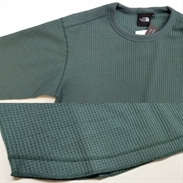 THE NORTH FACE/ザノースフェイス/Long Sleeve Waffle Crew/ロングスリーブワッフルクルー/NT81833|gpstore|03